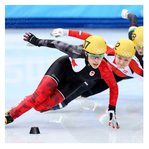 clothing collection for the Speed Skating Olympic Canadian Team
