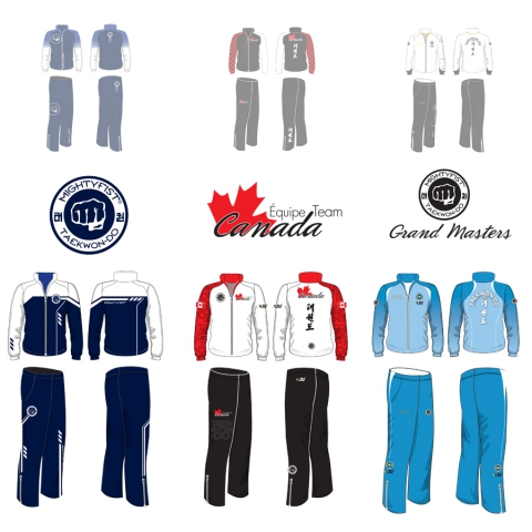 Tracksuit design for various Team
