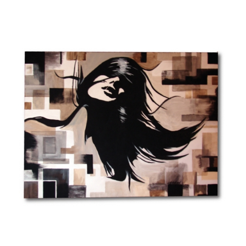 Abstract women painting